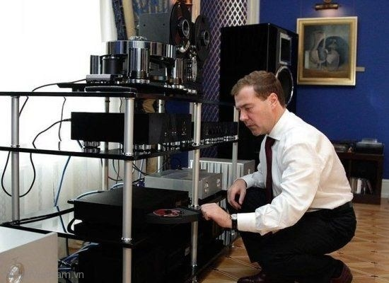 Dàn âm thanh hi-end của tổng thống Nga