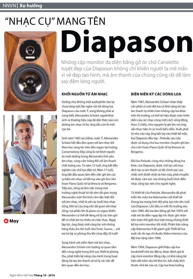 Nhạc cụ mang tên Diapason