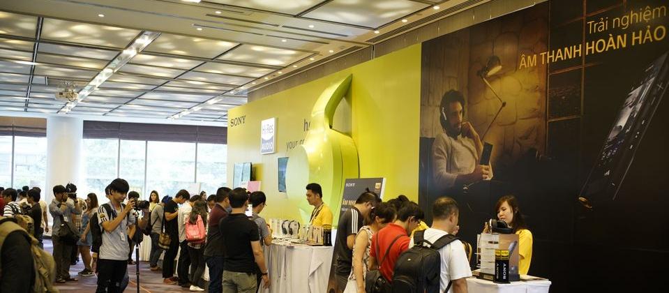 [ P.A.S 2016 ] – Sony – Gian hàng nổi bật nhất triển lãm